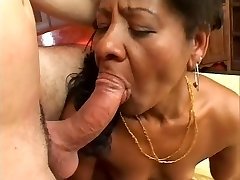 Ethnic Cougar Takes It Rigid From The Back