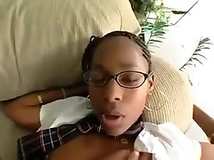 black school-girl has extracurricular activities