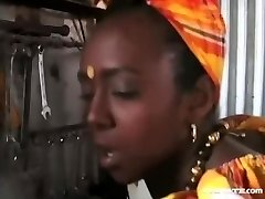 Dark-hued godesses African Anal Homenage comp