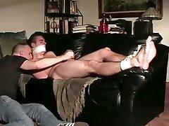 str8 guy restrained handjob