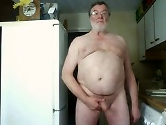 Morning Wank and Jism on Webcam