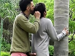A Steaming Latino Stud Gets His Prick Sucked By The Beach