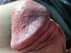 Extreme Tiny Man-meat Close Up