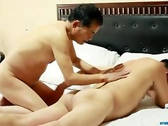 Chinese Daddies Romp Play