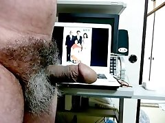 Japanese old man Erection to see Kayoko