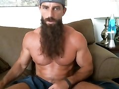 long bearded muscle boy solo #3