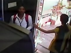 Ass To Mouth Scandal captured by security camera