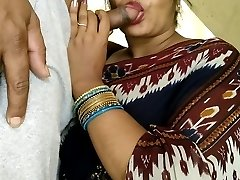 Indian Public Oral Popshot In Appartment Corridor