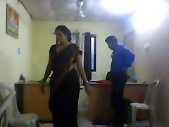 Office chick with hidden camera