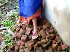 Devar Outdoor Plumbing Indian Bhabhi In Abandoned House Ricky Public Sex