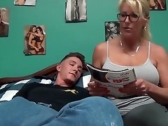 Story time with mom