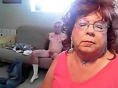 Grandma CD sucks Horny Mountain Hick........