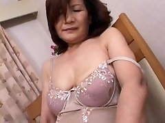 Mature Asian Getting Off