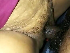 Fucking and Cumming on Indian Mature Pussy