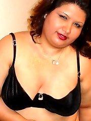 Jez is one sexy chubby latina girl