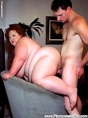 Zazie has to pull out all the stops to get a confession from her suspect. Interrogating makes this fat slut really wet and using her massive mams and giant wet slit, she coaxes more than a confession from her captive.
