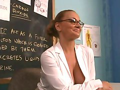 Horny teacher humping student