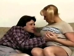 Titty Queen Lovette In Pigtails Gets DP And Strap On