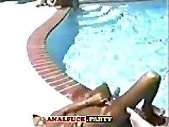 Classic Superstars Pool Assfuck - Part 2 in ANALSLUT.WEBCAM