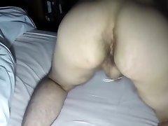 Fuckpole Tied Booty Plug Ball Slapping Early Morning Fun!