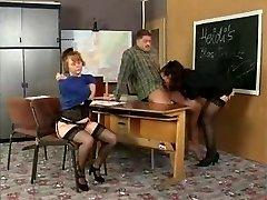 History Professor Instructs Her Schoolgirls On Sex