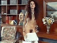 ANTMUSIC - vintage 80's thin unshaved strip dance