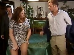 Two dicks for a chesty crumpet
