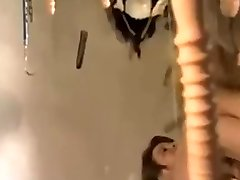 Antique jokey horror movie parody with dildo