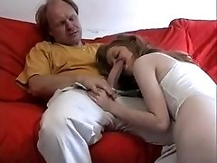 Highly tender, erotic Daddy poleplay