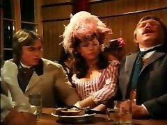 Vintage deutsche gegenseitige Onanism am Tisch