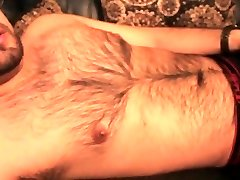 Don Stone Messy Talk In Pjs Early Moanin Uber-sexy Voice Hairy Latino Angle 1