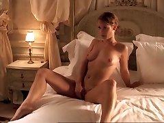 Horny inexperienced Celebrities, Lesbian fuckfest clip