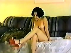 Blond brunettes fucked Ridiculous in Old School vid