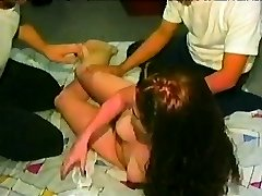 During a Celebration an unexperienced Woman takes on two Folks at