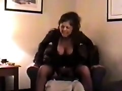 Vintage hotwife nail that is threesome