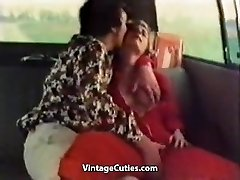 Nasty Chick Fingered in a Car