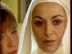 Nun seduced by girl-girl!