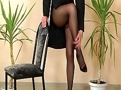 Another classical pantyhose reel