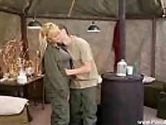 Retro Orgy In The Army