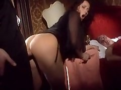 Cougar fucks with another front of husband