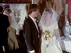gloved hand job vintage wedding scene