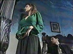 Sexy chick in classical porno movie 1
