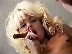 Cigar Smoking Strap Dildo