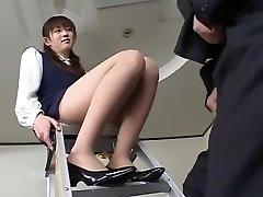 Kinky Japanese woman in Horny Secretary, Compilation JAV movie