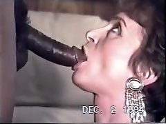 vintage - douchebag hubby watches wife down a big black cock.avi