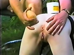 Submissive slave maid bum distroyed