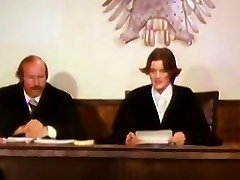 Orgy - Judge inspects facts of the case in the courtroom