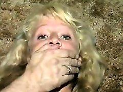 Super-cute Blonde Slave Duct Taped Classic