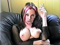 Hottest amateur Big Tits, Smoking xxx movie