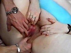BBW super-bitch fucked in a retro porn video